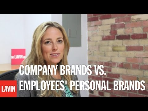 Amber Mac: Company Brands Vs. Employees' Personal Brands