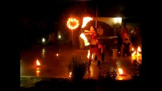 Fire show Palermo Slavyansk Славянск
