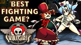 SkullGirls Mobile. BEST LOOKING Fighting Game EVER! Gameplay and First Look. (IOS/Android)