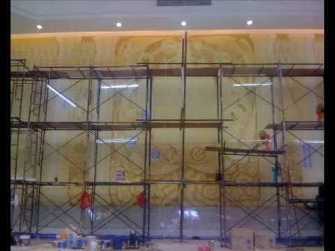 Mural painting อาสนวิหารอัครเทวดาราฟาเอล