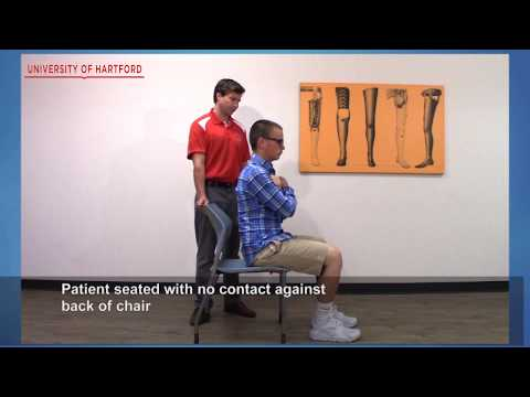 Five Time Sit to Stand Test (FTSST) - YouTube