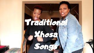 Traditional Xhosa Songs| With Mom|| Sanelisiwe Mtumane