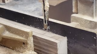 Intro to a Hollow Chisel Mortiser