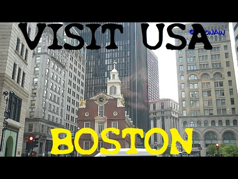 VISIT USA - BOSTON & HARVARD - ETATS UNIS