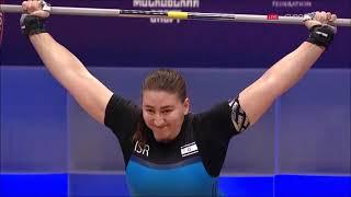 2021 European Weightlifting W 81 kg A