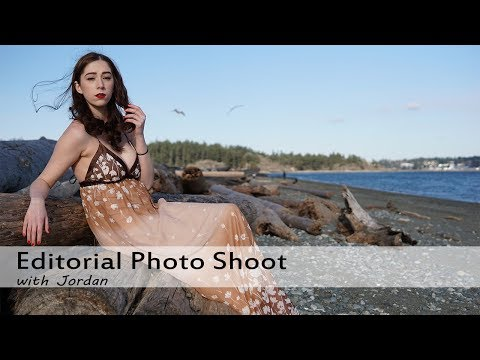 Editorial Photo Shoot in Chilly Weather with Jordan - Vlog121