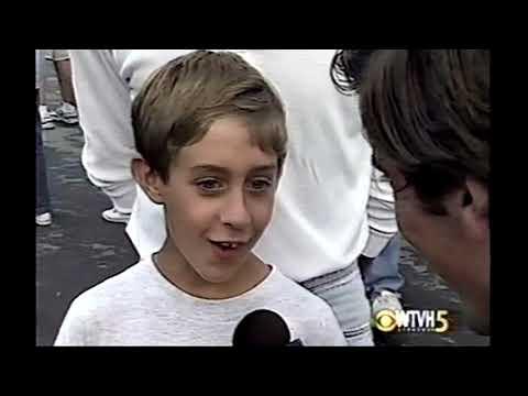 David Muir Interviews Matt Hauswirth at 1995 New York State Fair
