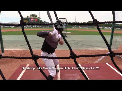 Shortstop Luke Smith Calallen High School Class of 2021