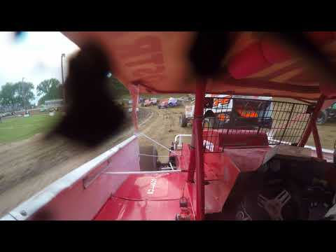 Albany Saratoga Speedway Sportsman Feature (6/1/18) Crash