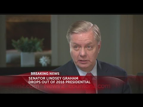 Sen. Lindsey Graham drops out of 2016 Presidential Race