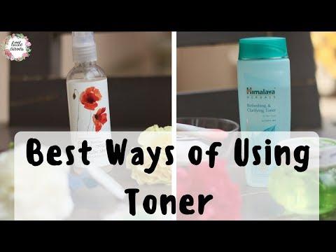 Ways of Using Toner || Some Hacks Of Using Toner EVERYDAY