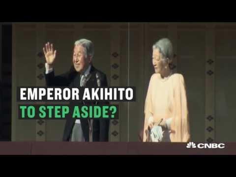 Will Emperor Akihito abdicate the throne?