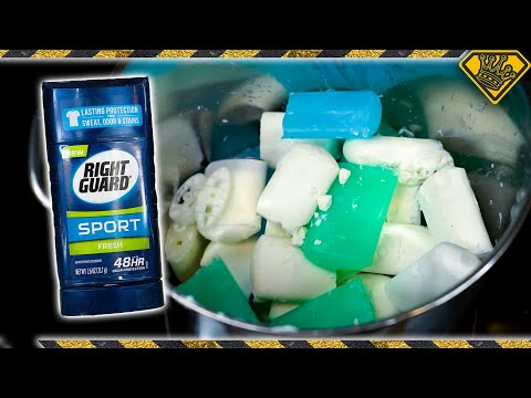 50 Sticks of Deodorant Melted Into One!