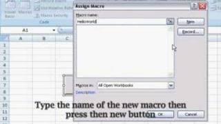 Excel 2007 - Code Editor