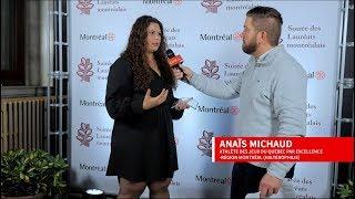 ESIM - Anaïs Michaud - Soirée des Lauréats montréalais