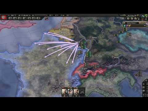 Hearts of Iron IV - Extreme fast German Start 1511 provinces 28th January 1937 not optimized!