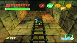 Legend of Zelda: Ocarina of Time Walkthrough - Bottom of the Well - Part 1