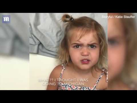 Adorable little girl has hilarious rant over airport security   Daily Mail Online