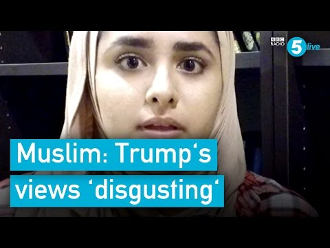 Latina Muslim: I don't want to be 'dehumanised' by Trump