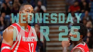 NBA: NBA Daily Show: Mar. 25 – The Starters