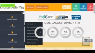 DigitaladsPay-Как купить пакеты.Обзор личного кабинета(Регистрация в DigitaladsPay: http://digitaladspay.com/ref/LuckyGuy Старт 17 апреля,2015 Предыдущее видео: ..., 2015-04-12T19:56:30.000Z)