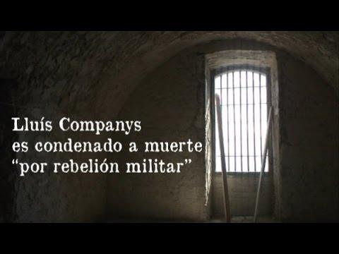 Lluís Companys, de la celda al pelotón de fusilamiento