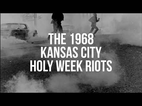 1968 Kansas City Holy Week Riots as reported by WHB News