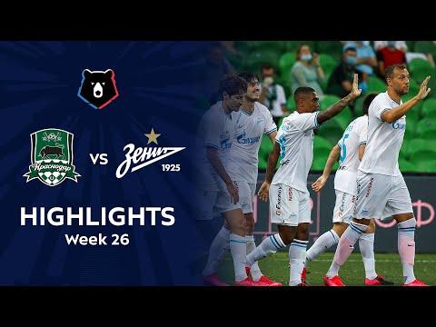 Highlights FC Krasnodar Vs Zenit (2-4) | RPL 2019/20