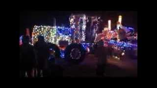 The Geyserville Christmas Tractor Parade