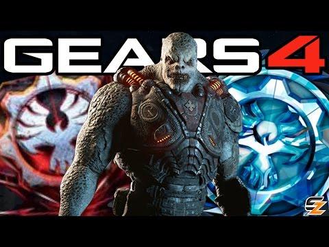 Gears of War 4 - Season 1, Ranks Rewards, Leaderboards & More!