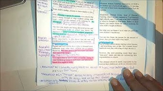 How to annotate an article