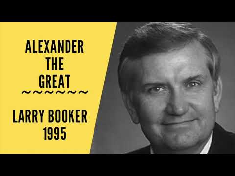 Alexander the Great ~ Larry Booker 1995