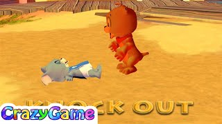 Tom and Jerry in War of the Whiskers - Team Tyke vs Team Nibbles Gameplay | CRAZYGAMINGHUB