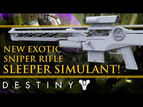 Destiny new taken king exotic weapon sleeper simulant