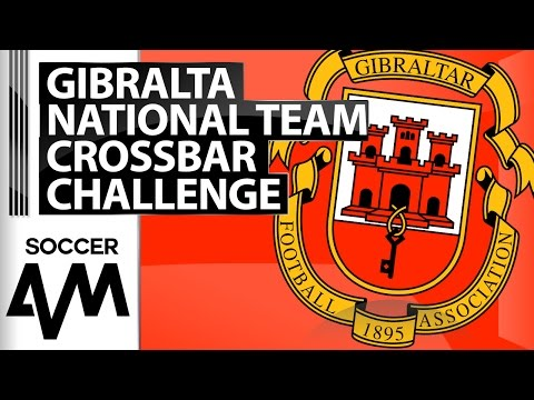 Crossbar Challenge - Gibraltar National Team