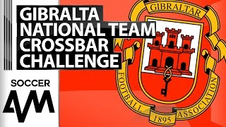 Crossbar Challenge - Gibraltar National Team - Soccer AM