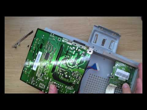 Samsung SyncMaster 2443NW. Монитор разбор,ремонт,сборка. 4k 60fps.