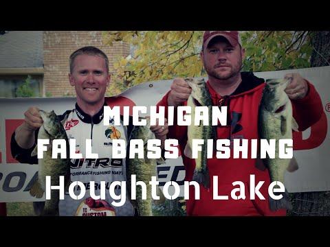 Michigan Fall Bass Fishing - Houghton Lake