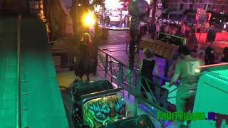 Ghost train Thriller onride with LIVE ACTORS!