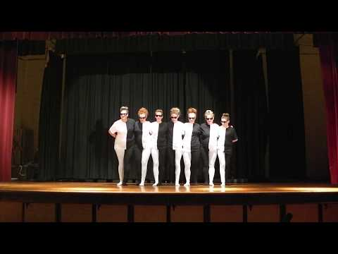 optical illusion dance best talent show ever!!!