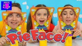 Provocarea Tort in Fata Pie Face Challenge la Jasmina Show