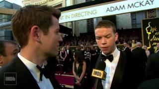 revenant 2016 interview actors discussing leonardo dicaprio tom hardy will poulter