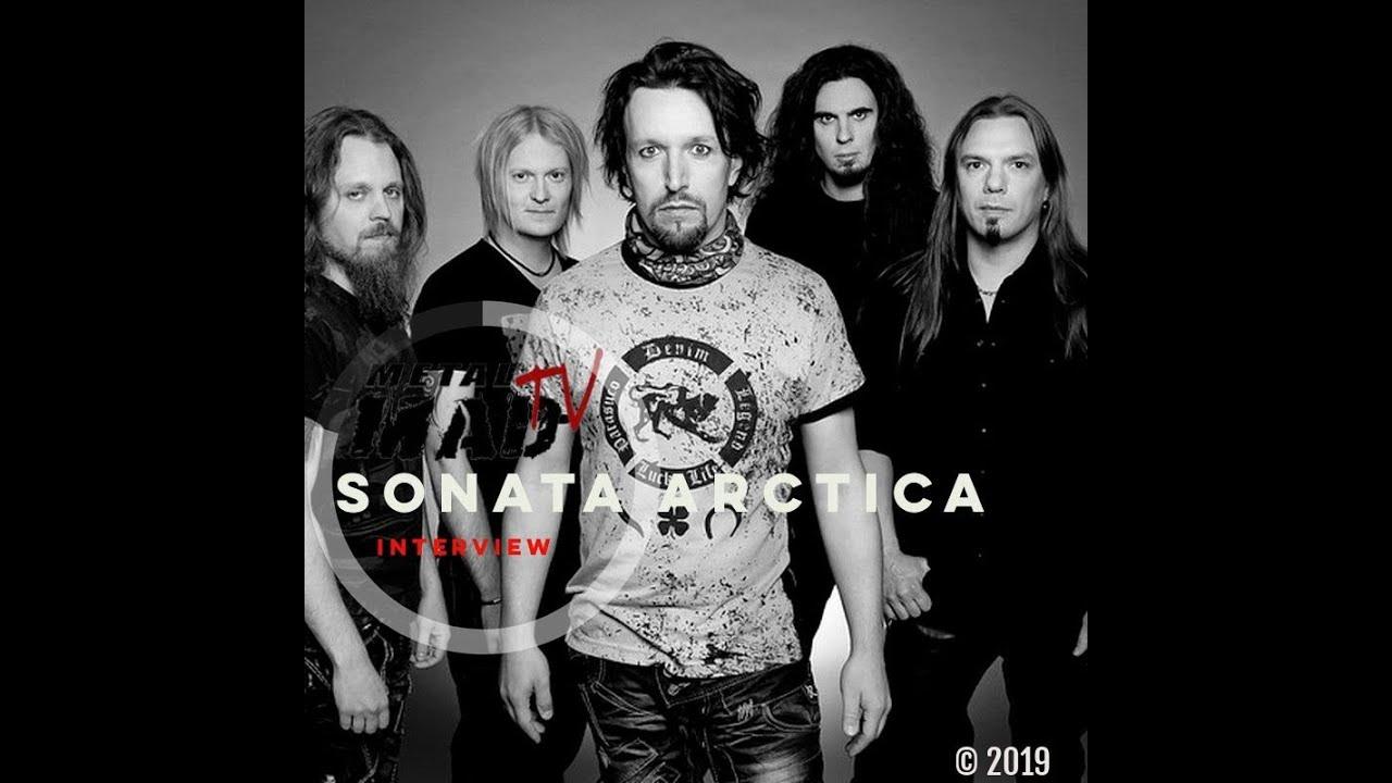 SONATA ARCTICA Press conference at HELLFEST