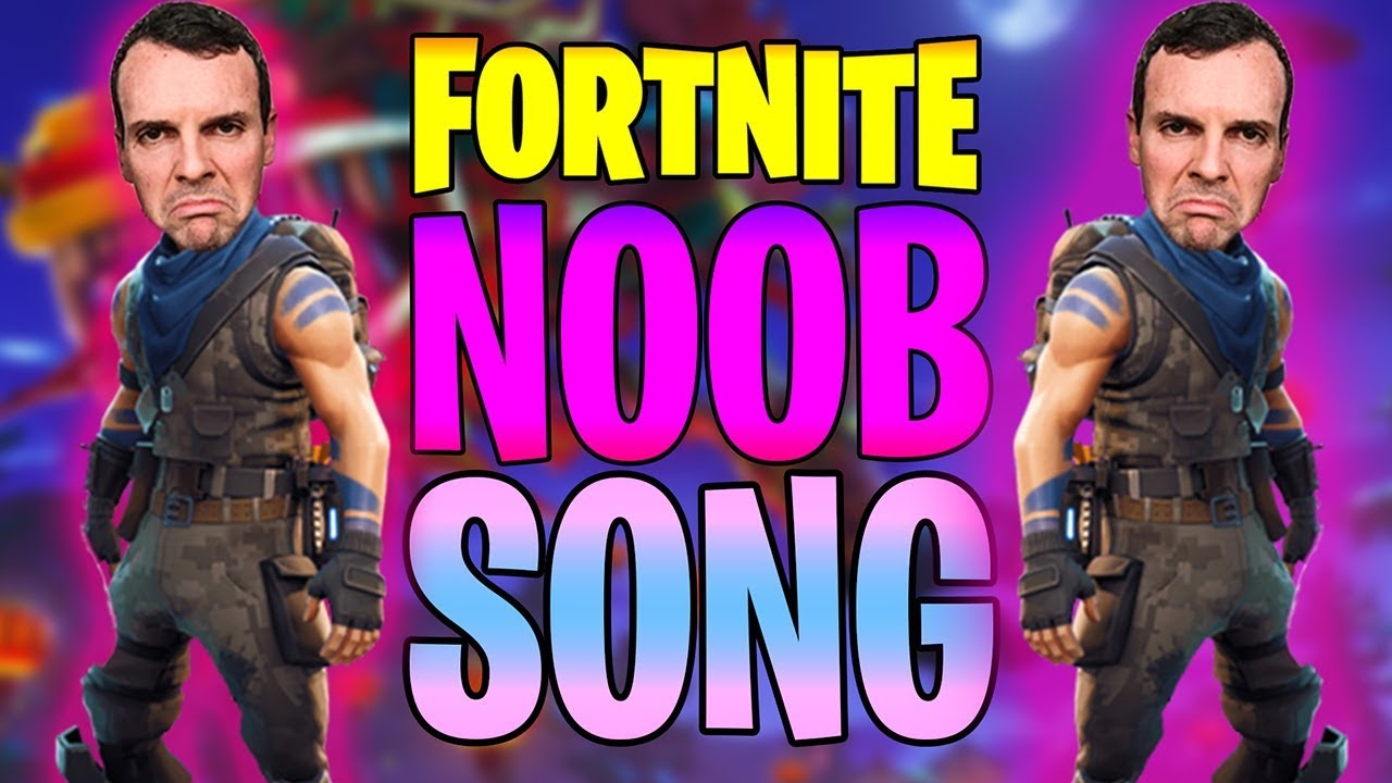 THE FORTNITE NOOB SONG (Official Music Video)