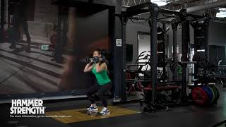 Dumbbell Squat Arms Up