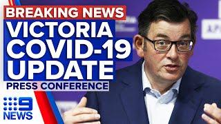 Coronavirus: Victorian Premier urges testing as state records five new cases | 9 News Australia