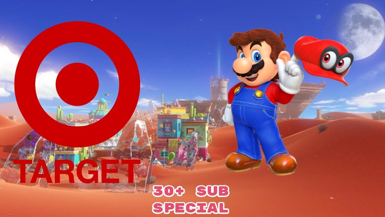 d5c1d04f7f Super Mario Odyssey Demo at Target! - Thanks for 30+ Subs!! - YouTube