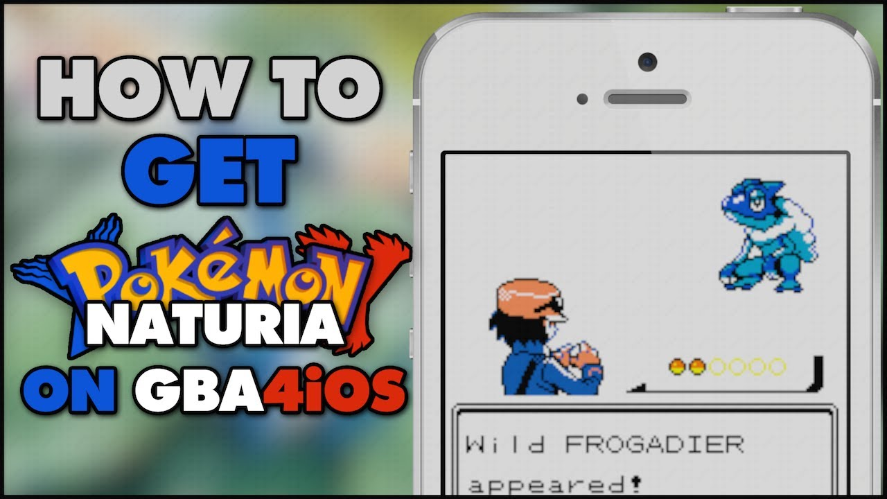 Pokemon x y naturia version gbc rom hack on your ios device no jailbreak no computer youtube