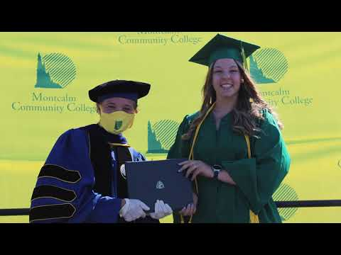Montcalm Community College 2020 Commencement Highlights