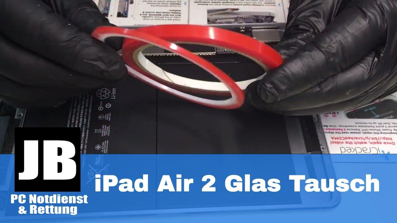 ipad air 2 display glas tausch mit tips tricks kann ich nur das glas tauschen. Black Bedroom Furniture Sets. Home Design Ideas